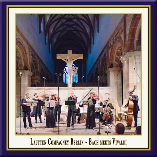Frontcover: Bach meets Vivaldi