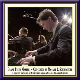 Piano Concertos by Mozart & Schmidinger