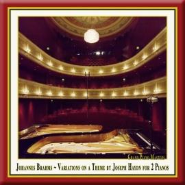 BRAHMS: Variationen für 2 Klaviere, Op. 56b