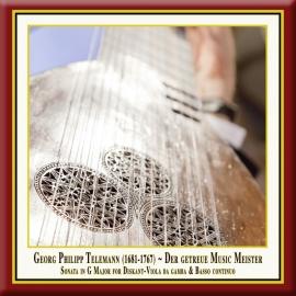 """TELEMANN: Sonata in G Major (from: """"Der getreue Music Meister"""")"""