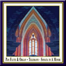 TELEMANN: Sonata in A Minor · Pan Flute & Organ
