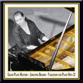 BRAHMS: Variationen für Klavier in D-Dur, Op. 21