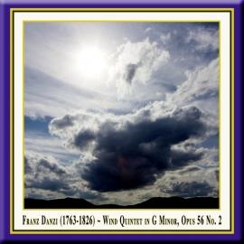 DANZI: Wind Quintet in G Minor, Op. 56, No. 2
