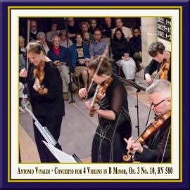 Vivaldi: Concerto for 4 Violins in B Minor, Op. 3 No. 10, RV 580