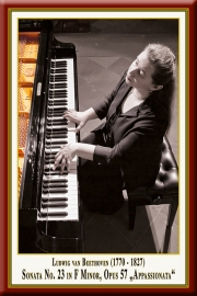 "BEETHOVEN: Klaviersonate Nr. 23 ""Appassionata"""